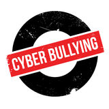 Cyber Bullying rubber stamp Royalty Free Stock Photos