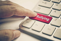 Cyber bullying. / Social media witch hunting concept Royalty Free Stock Photography