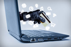 Cyber Crime Concept Royalty Free Stock Photography