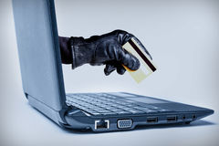 Cyber Crime Concept Royalty Free Stock Image