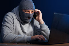 Cyber crime Stock Photo