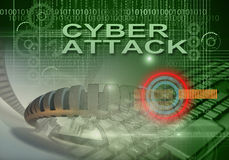 Cyber crime Royalty Free Stock Photo