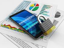 Cyber 3d Lizenzfreies Stockbild