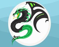 Cyber Dragon Stock Images