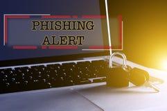 Cyber en technologieveiligheidsconcept Stock Afbeelding