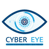 Cyber eye icon Royalty Free Stock Photo