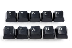 Cyber fraud Stock Image