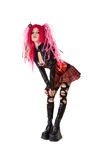Cyber gothic girl Royalty Free Stock Photography