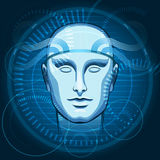 Cyber Head Stock Images