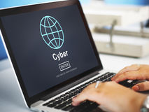 Cyber Internet Online Connection Globalization Concept Stock Photo