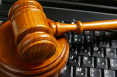 Cyber law Royalty Free Stock Photos