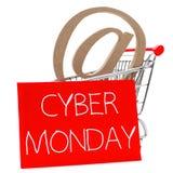 Cyber lundi Photographie stock libre de droits
