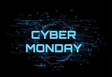 Cyber lundi Image stock