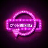 Cyber-maandag Stock Fotografie
