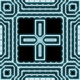 Cyber mesh Stock Image