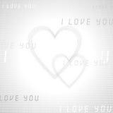 Cyber miłość obraz royalty free