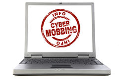Cyber Mobbing Stock Image