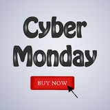 Cyber Monday Background Royalty Free Stock Photo
