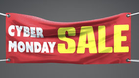 Cyber monday, banner Royalty Free Stock Image