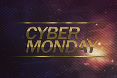 Cyber Monday business concept Royalty Free Stock Photography