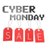Cyber Monday concept... Royalty Free Stock Photo