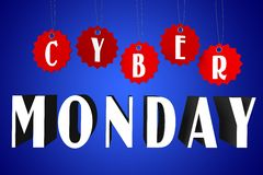 Cyber Monday concept... Royalty Free Stock Images