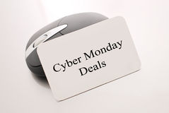 Cyber Monday Deals. Concept With Computer Mouse stock photos