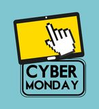 Cyber monday deals Stock Photo
