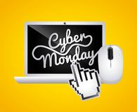 Cyber monday deals Royalty Free Stock Photos