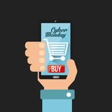 Cyber monday deals Stock Photos