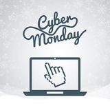 Cyber monday deals Stock Photography