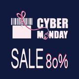Cyber Monday. Deals. Sale. Royalty Free Stock Image