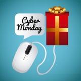 Cyber Monday design Stock Image