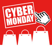 Cyber Monday design Royalty Free Stock Images