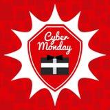 Cyber Monday design Stock Photos