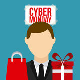 Cyber Monday  design Royalty Free Stock Image