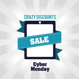 Cyber Monday design Stock Photo