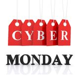 Cyber Monday discounts Royalty Free Stock Photos
