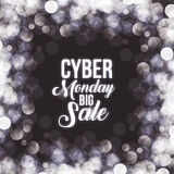 Cyber Monday and ecommerce design Stock Photography