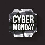 Cyber Monday and ecommerce design Royalty Free Stock Image