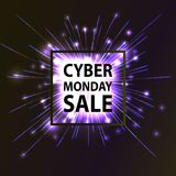 Cyber Monday Hot Sale. Royalty Free Stock Image