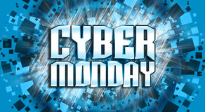 Cyber Monday Online Sale Concept Royalty Free Stock Photography