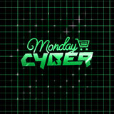 Cyber Monday online shopping and marketing concept Royalty Free Stock Images