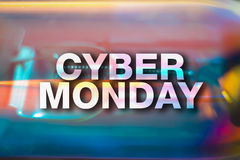 Cyber monday poster Stock Photography