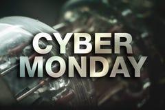 Cyber monday poster Stock Photos