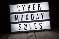 Cyber monday s@les royalty free stock photos