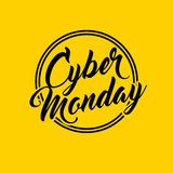 Cyber monday sale commerce. Illustration design royalty free illustration