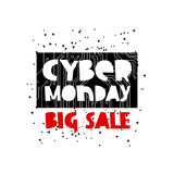 Cyber Monday Sale Concept Royalty Free Stock Photography