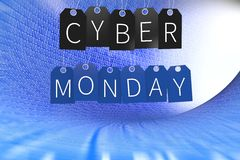 Cyber Monday sale concept... Stock Photo