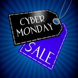 Cyber Monday sale concept... Stock Images